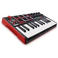 Akai Professional MPK Mini MKII 25-Key USB MIDI Drum Pad & Keyboard Controller with Joystick
