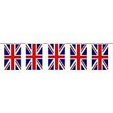 Banggood Union Jack Flag Bunting 12ft With 11Flags