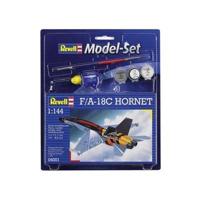 Revell - Maquette - Modèle F/A-18C Hornet - Echelle 1:144