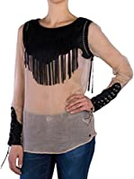 Replay Blusa (Beige)