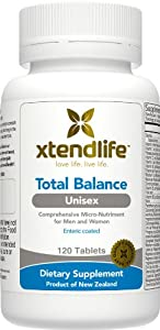 Xtend-Life Total Balance Unisex Multivitamin / Multinutrient Supplement for Anti-Aging & General Health (120 Enteric Coated Tablets)