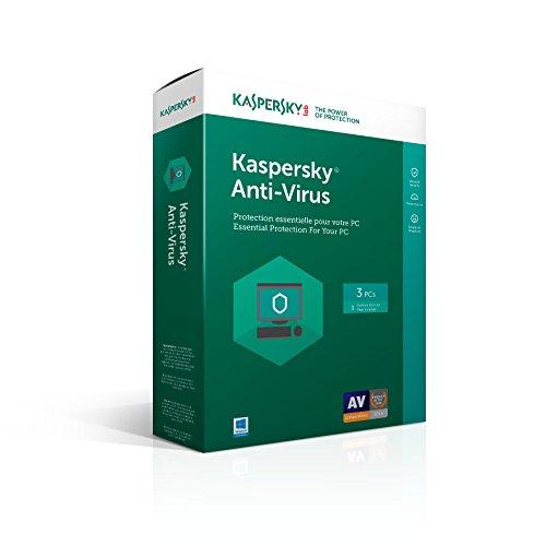Kaspersky Antivirus 2017 3U 2017
