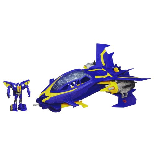 Transformers Beast Hunters Sky Claw Vehicle with Smokescreen Figure 3 Inches by Transformers