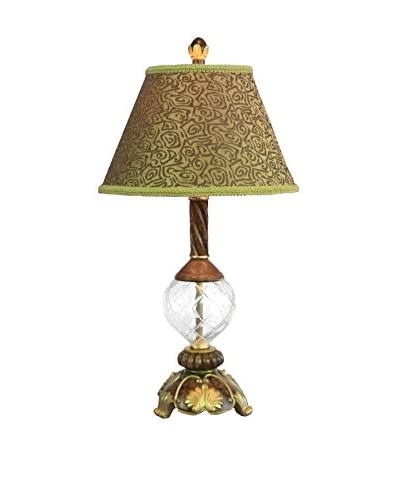 Legacy Lighting Footed Glass Decorative Table Lamp