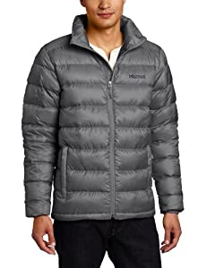 Marmot Men's Zeus Insulated Down Jacket - Cinder, Small (Old Version)