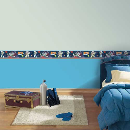 Blue Mountain Wallcoverings DS026458 Disney Toy Story 3D Self-Stick Wall Border