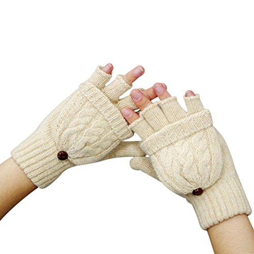 wocachi-damen-frauen-warmer-winter-handschuh-ohne-finger-twist-clamshell-handschuhe-beige