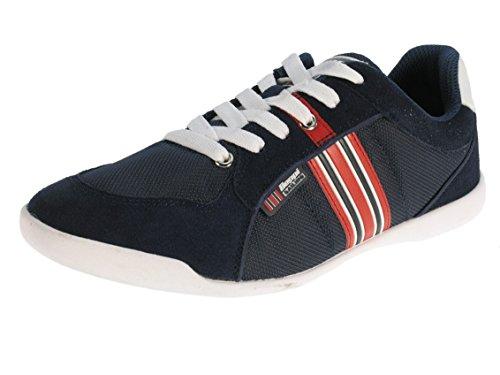 Beppi, Sneaker uomo, Blu (Navyblau), 42
