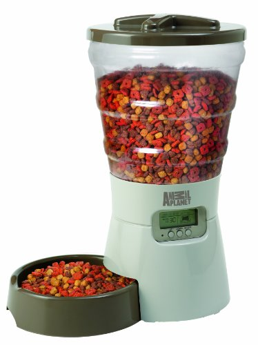 Animal Planet Programmable Electronic Pet Feeder front-599728