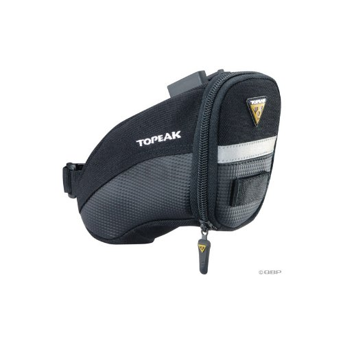 Topeak Aero Wedge Pack DX Bicycle Seat Pack with Fixer (Small)