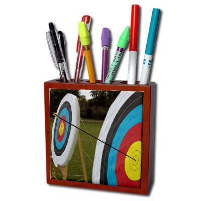 Archery Target Pencil Holder
