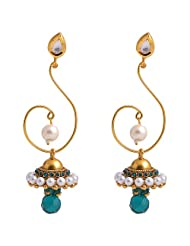 Jewel Mart Antique Earing Blue For Women JME022