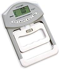 iisport 440,92 lbs 90 Kgs/dinamómetro de medida de fuerza de presión de mano Digital activado y desactivado del modo capturar de presión de la mano de medidor