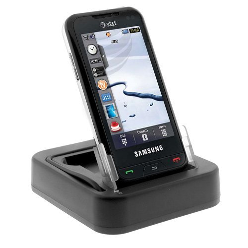 3-In-1 USB Hot Sync Charging Cradle with Spare Battery Charger Slot for ATT Samsung Eternity A867 Cell Phone