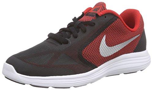 Nike Revolution 3 (GS) Zapatillas de running, Niños, Rojo /...