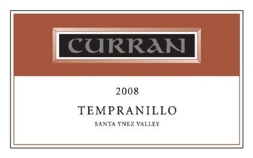 2008 Curran Tempranillo, Santa Ynez Valley 750 Ml
