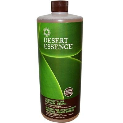 Desert Essence Thoroughly Clean Face Wash, 32 Ounce -- 3 Per Case.