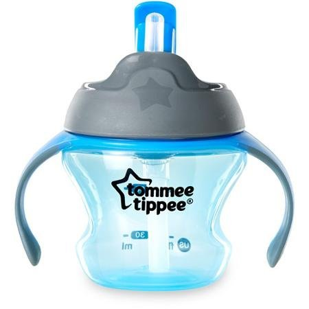 Tommee Tippee Closer To Nature First Straw Transition Cup, 5 oz/150 ml