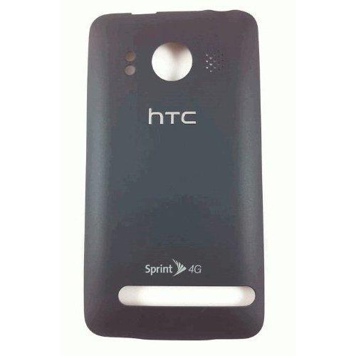 Htc Evo 4G Black Back Cover Battery Door