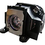 Replacement Lamp for EPSON ELPLP40, EB-1810, EB-1825, EMP-1810, EMP-1810P, EMP-1815, EMP-1815P, EMP-1825, PowerLite 1810, PowerLite 1810p, PowerLite 1815, PowerLite 1815p, PowerLite 1825