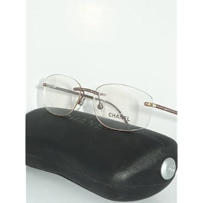 Amazon.com: Rimless Chanel Prescription Eyeglasses Frames