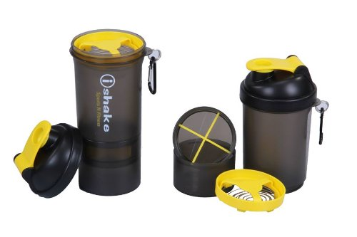 Ishake 019 Blender Yellow Soot Shaker Bottle