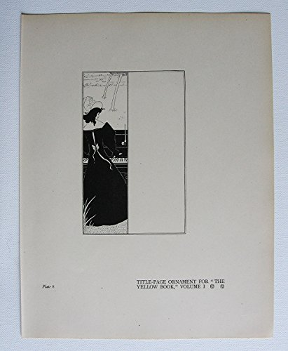 aubrey-beardsley-antique-print-title-page-ornament-for-the-yellow-book-volume-i