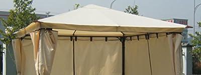 Ersatzdach für Pavillon VENEZIA, ecru, wasserdicht