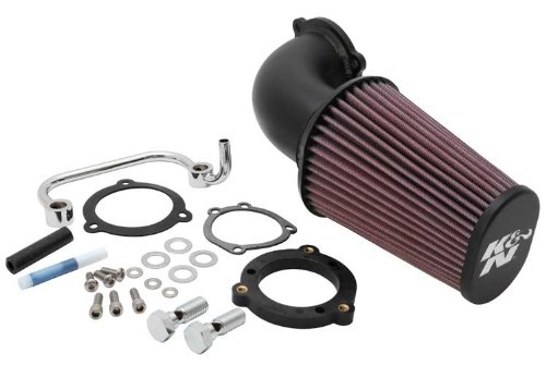 K&N 63-1126 Harley Davidson Performance Intake Kit back-576512