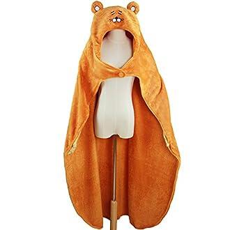 ハロウイン 干物妹!うまるちゃん コスプレ 衣装 マント フード パーカ (140cm, イエロー)