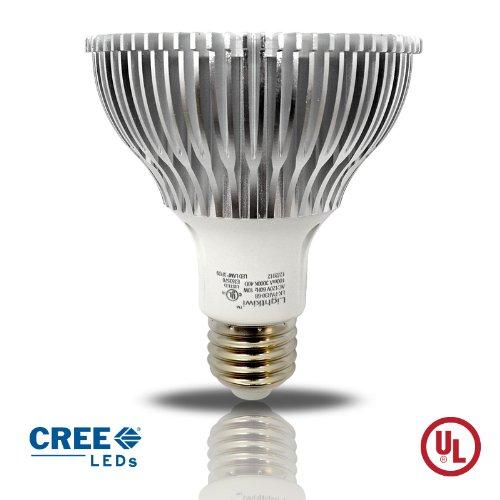 Lightkiwi D7623 PAR30 Warm White Dimmable LED Spot Light Bulb, 75-watt Equivalent