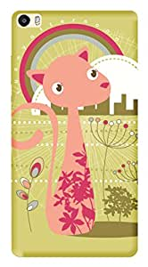 TrilMil Printed Designer Mobile Case Back Cover For Huawei Ascend P8max