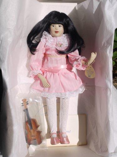 "Suzi with Violin - 16"" ELEGANTE Doll by Dakin - 1987"