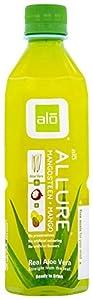 ALO Allure Aloe Vera Beverage, Mangosteen & Mango, 16.9 Ounce (Pack of 12)