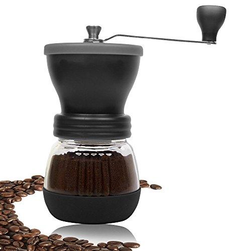 DuraCasa Manual Burr Coffee Grinder for Espresso - Roasted Coffee Bean, Black (Cedar Wine Press compare prices)