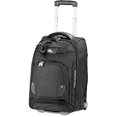 Buy High Sierra® 21 Wheeled Carry-On Luggage with 17 Computer Sleeve - Black by High Sierra