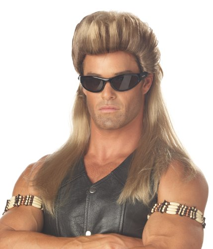 California Costumes Men's Bail Enforcer Wig