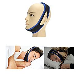 Aptoco Anti Soring Chin Strap Adjustable Natural and Instant Snore Relief Stop Snore Better Sleep Devices