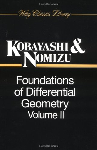 Foundations of Differential Geometry: v. 2 (Wiley Classics Library)