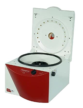 Ample Scientific Champion F-33 Bench-Top Centrifuge, 0-30mins Timer, 300rpm Speed, 15ml Rotor