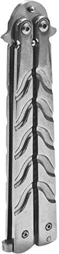GenPro Butterfly Comb Silver Handle