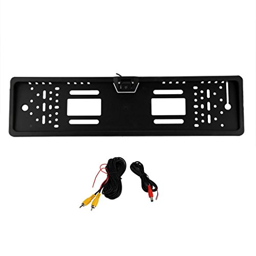 Backup Camera,Inkach Licence Plate Waterproof Radar Reversing Camera (Flash Back For Rear Bumper compare prices)