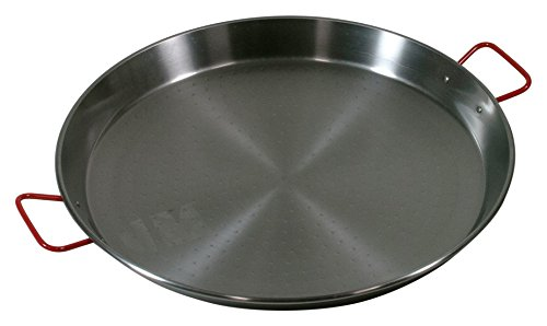 Garcima 20-Inch Carbon Steel Paella Pan, 50cm (Large Paella Pan compare prices)