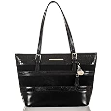 Medium Asher Tote<br>Black Maddox