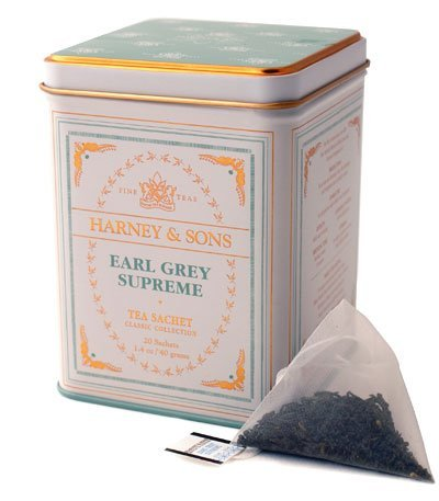 Earl Grey Supreme, 20 Sachets In Tin By Harney & Sons