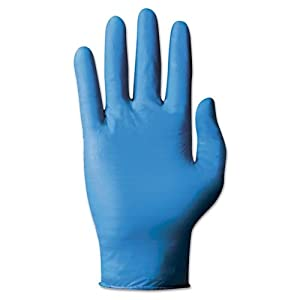 AnsellPro AHP92575M TNT Blue Disposable Nitrile Gloves Medium, Blue