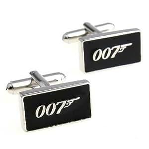 GNG Novelty Cufflinks James Bond 007 Style+gift Bag