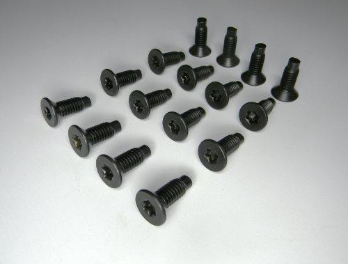 16 Each Jeep Wrangler Torx Screws Bolts For Windshield