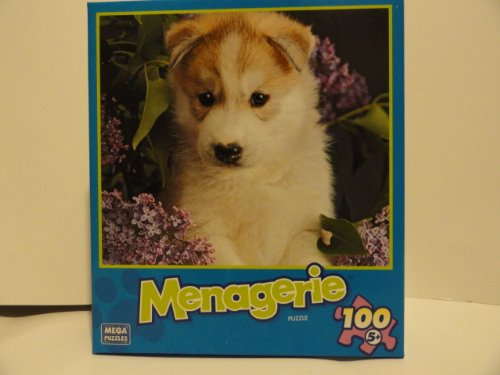 Menagerie 100 Piece Jigsaw Puzzle - Lilac Puppy