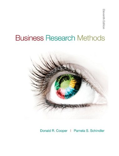 Business Research Methods (McGraw-Hill/Irwin Series in...